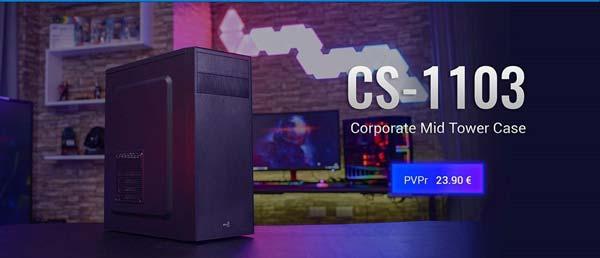 Cajas elegantes y funcionales, CS103 y CS1103 de Aerocool