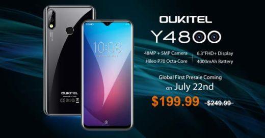 comparativa OUKITEL Y4800 y Redmi Note 7 Pro
