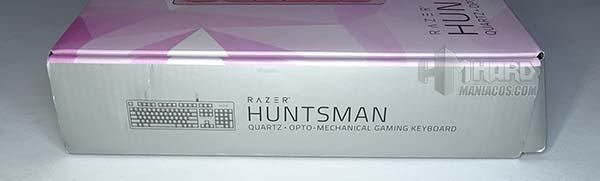 laterales caja Razer Huntsman Quartz