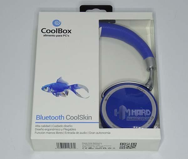 auriculares CoolCoolSkin en caja frontal