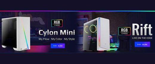 Cylon Mini white y Rift