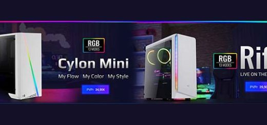 Cylon Mini white y Rift