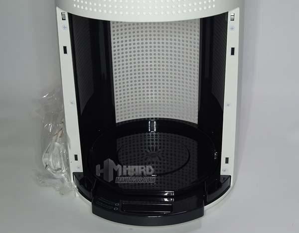 hueco del filtro purificador Tower QS