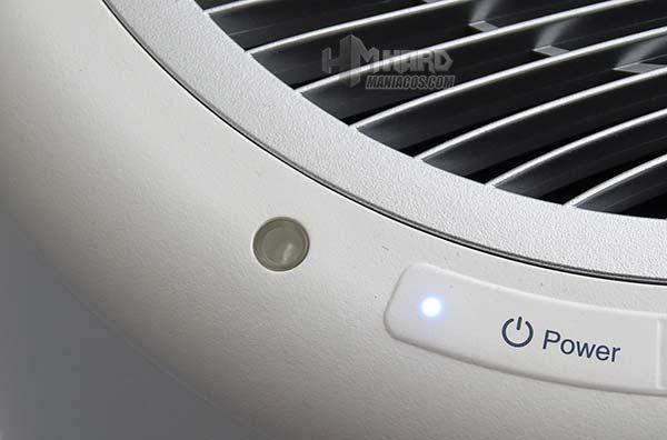 sensor de luz purificador de aire WINIX Tower QS