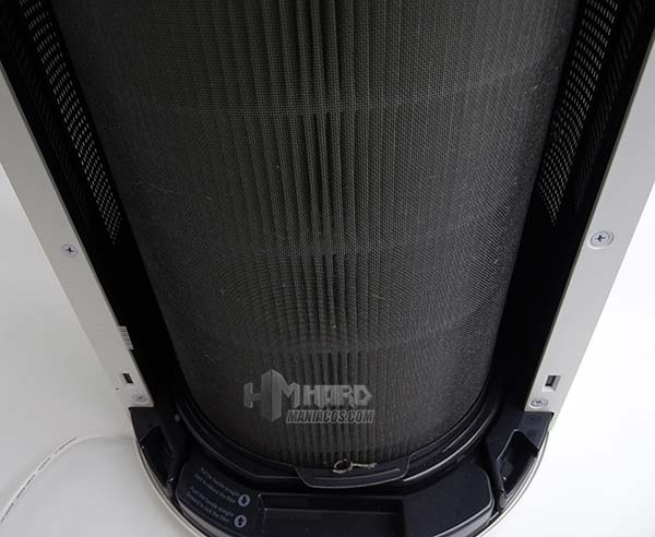 filtro usado purificador de aire WINIX