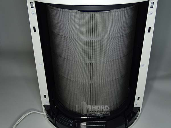 colocacion filtro en purificador de aire