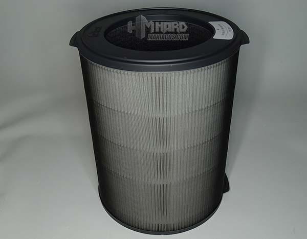 filtro por fuera purificador de aire Tower QS