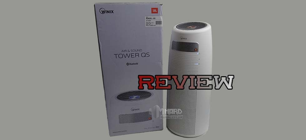 Purificador de aire WINIX Tower QS Portada
