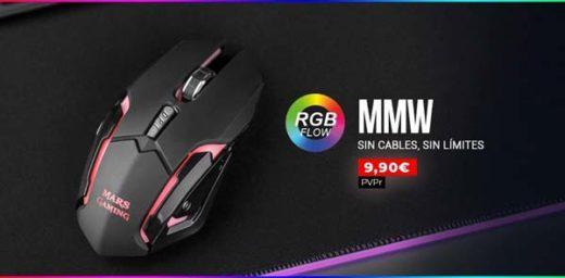ratón mmw de mars gaming