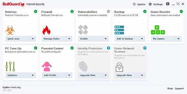 BullGuard mejor antivirus windows 10