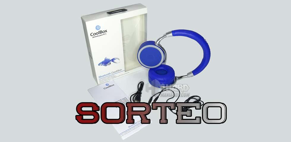sorteo auriculares bluetooth coolskin