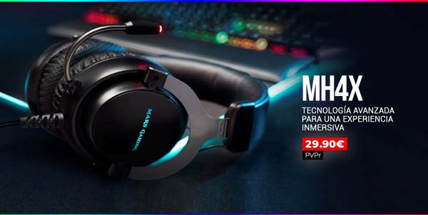 auriculares mh4x de mars gaming