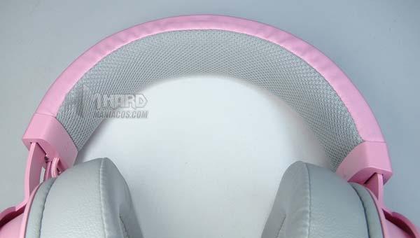 diadema por dentro cascos Razer Quartz Edition