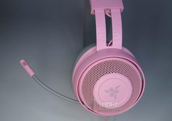 microfono cascos Razer Kraken Quartz Edition