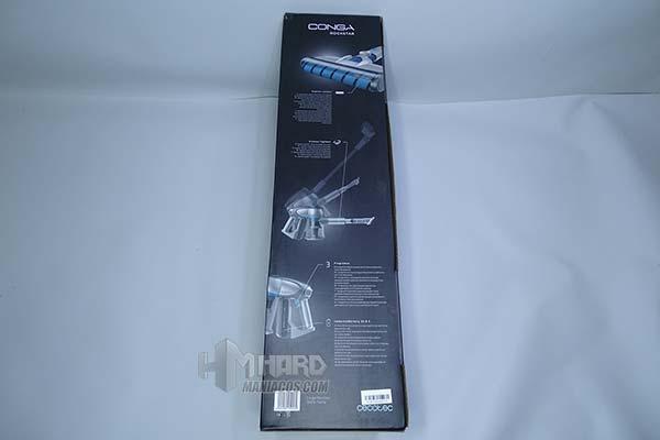 lateral caja aspirador Conga RockStar 300