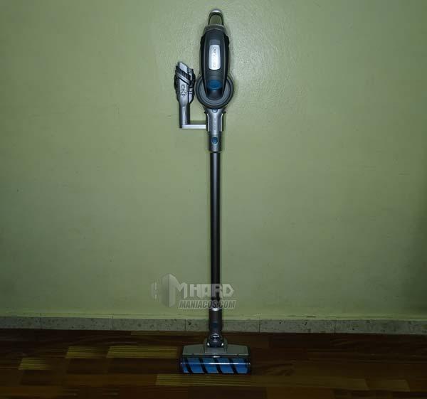 aspirador vertical en soporte Conga RockStar
