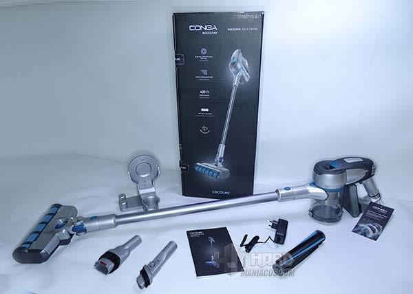 unboxing aspirador Conga RockStar 300 XTreme