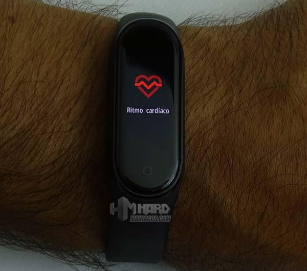 Xiaomi mi band 4 ritmo cardiaco