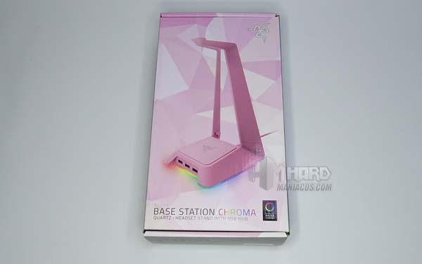 caja frontal Razer Base Station Chroma Quartz Edition