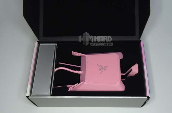 Unboxing caja Razer Base Station Chroma Quartz Edition