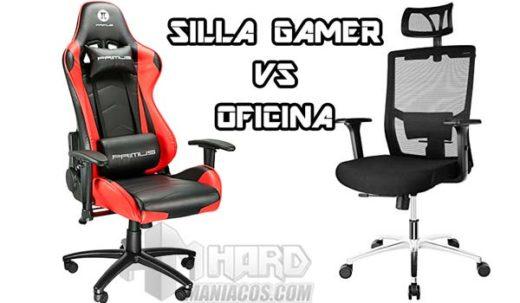 silla gamer vs oficina