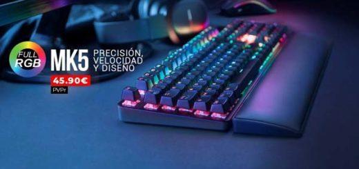 teclado mecanico mk5 de mars gaming