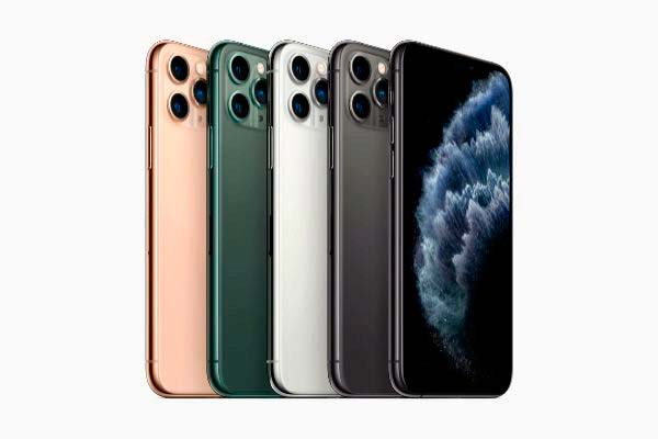iPhone 11 Pro colores