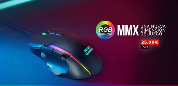 Nuevo ratón MMX de Mars Gaming