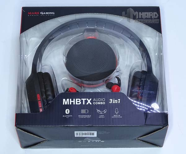 caja Combo MHBTX Mars Gaming
