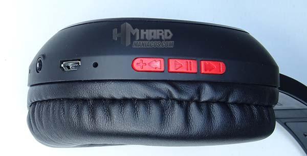 botones orejera cascos combo mhbtx mars gaming