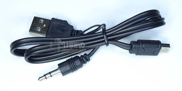 cable Jack/USB dos en uno altavoz combo mhbtx