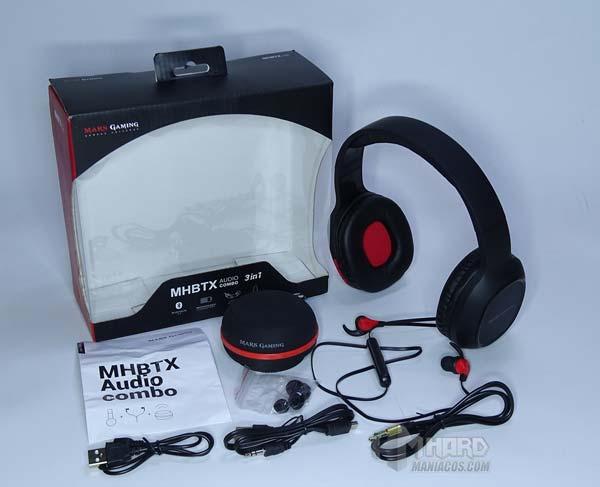 combo MHBTX mars gaming unboxing