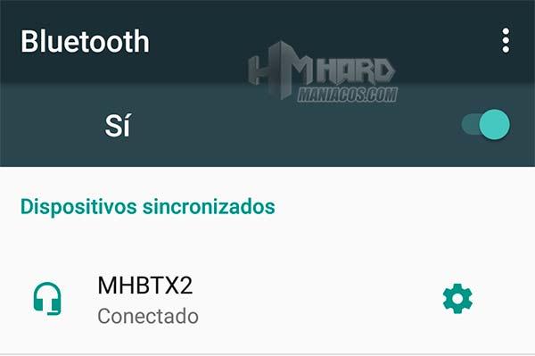 Bluetooth auriculares in-ear combo mhbtx