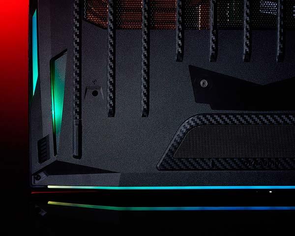 iluminacion chasis GT76 Titan