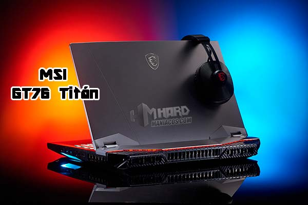 GT76 Titan Portada