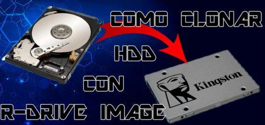 Tutorial clonar disco duro con R-Drive Image