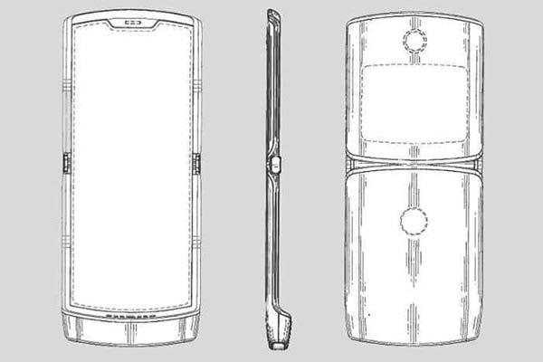 Moto Razr 2019 patente