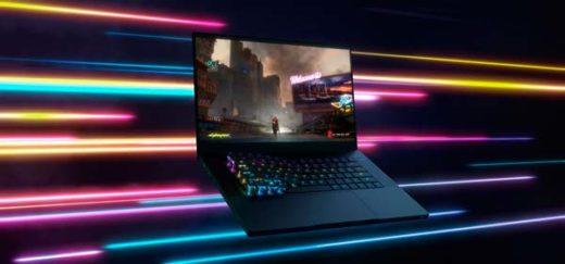 teclado óptico en portátil Razer Blade 15