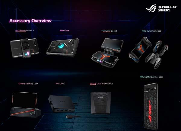accesorios Asus ROG Phone