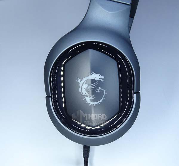 orejera exterior auriculares MSI GH50