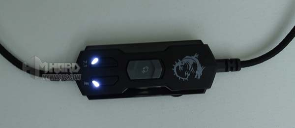 LEDs botonera cascos MSI GH50