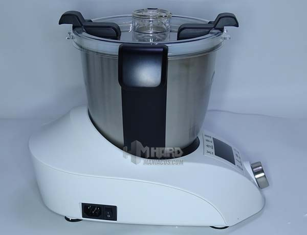 robot de cocina ChefBot Compact SteamPro de lado