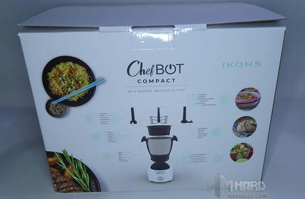 caja por detrás ChefBot Compact