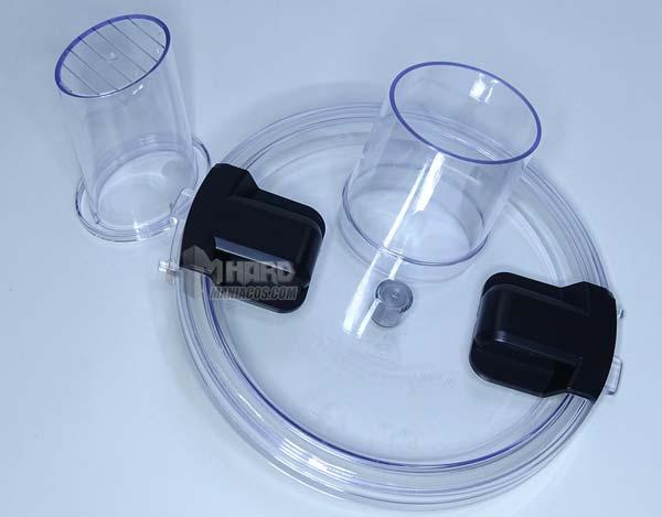 tapa y vaso empujador robot cocina ikohs