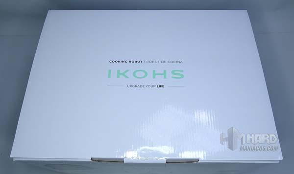 tapa de fuera caja robot cocina Ikohs