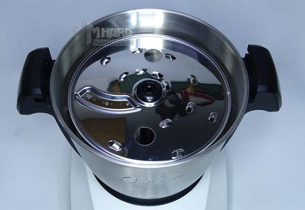 disco rallador en vaso ChefBot Compac SteamPro
