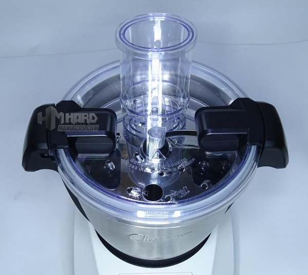 disco rallador en vaso y tapa robot cocina ikohs