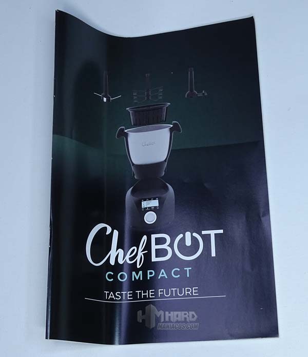 manual robot cocina chefbot compact