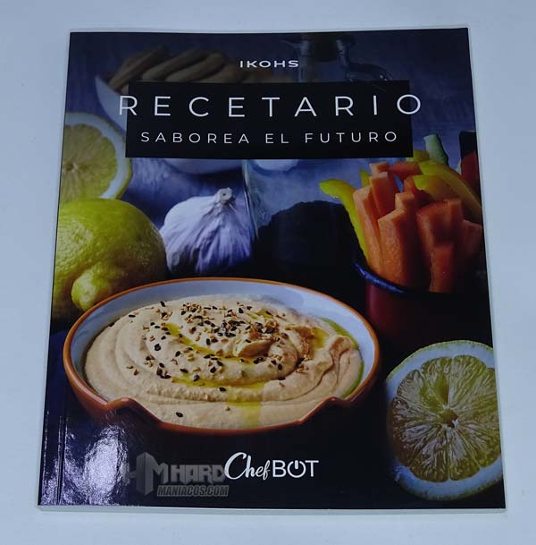 libro recetas Monica Escudero chefbot compact steampro