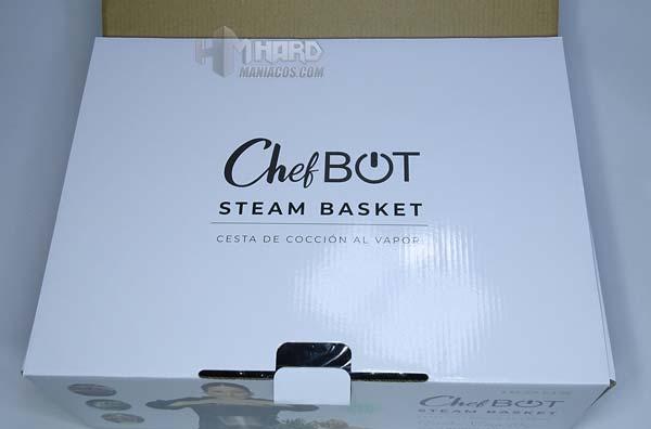 tapa interna caja cestos vapor robot cocina ikohs